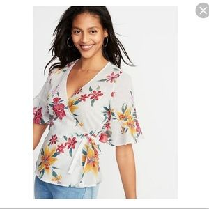 Old Navy Wrap Top - NWT